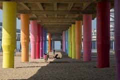Scheveningen, Pier (Hans Westerink) Tags: denhaag zuidholland nederland nl hanswesterink canon 6d beach strand scheveningen sea zee meer mer plage