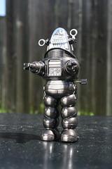 Robby The Robot Wind-Up (Masudaya 1984) (Donald Deveau) Tags: robby robbierobot robot sciencefiction forbiddenplanet toys toyphotography vintagetoy japanesetoy windup masudaya