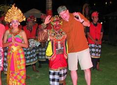 Beware of the Barong! (rougetete) Tags: indonesia bali denpasar westnusatenggara islandparadise birthdaytrip milestonebirthdaytrip 50 50thbday intercontinentalhotelbali intercontinentalhotel jimbaranbeach balinesetraditionaldance barong