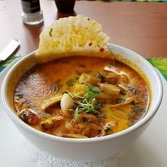 And this is the Pepper and Parsley seafood stew. It has a nice kick to it.