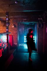 Basement colours (MarxschisM) Tags: night nightclub girl colours basement