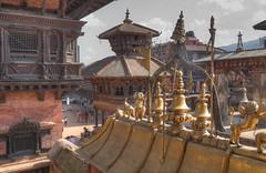 Golden Gate Bhaktapur (AdjaFong) Tags: nepal goldenestor bhaktapur