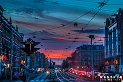 Amsterdam_sunset_30.10.2016 (wasyhun Asefa) Tags: amsterdam sunset city canon 70d sky