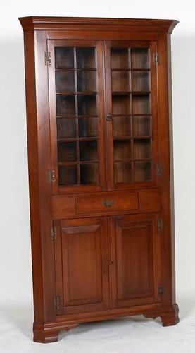 Virgnia Craftsman 24 Pane Corner Cupboard ($1,176.00)