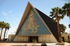 Guardian Angel Cathedral Las Vegas (mysuspira) Tags: lasvegas vegas church design midcentury googie