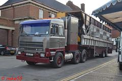 Foden 4380 reg M96 DGC (erfmike51) Tags: foden4380 truck artic fairgroundlorry