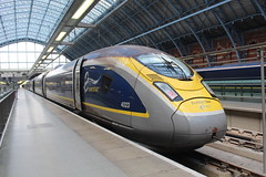 4023 (matty10120) Tags: railway rail train class eurostar old withdrawal london st pancras international 374 new belgium france england e300