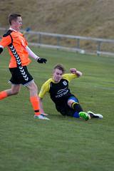 Ívar Gauti GG - Þróttur Vogar (Benóný) Tags: icelandic football soccer fotbolti lower league fight quality scottish bosnian black yellow orange win lose drop out go longer next round
