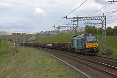Superb! (DieselDude321) Tags: 68025 class 68 drs direct rail services superb 6k27 1443 carlisle ny crewe basford hall ssm lambrigg cumbria
