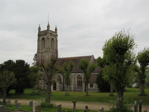 West Overton: Church of St Michael and All Angels (Wiltshire)