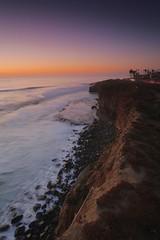 Sunset Cliffs - San Diego, CA. (j_adajar) Tags: gnd09 canon6d formatthitech longexposure ocean beach coast california sandiego hour golden sunset