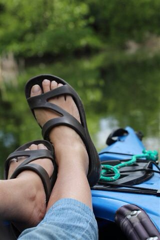 Kayak feet