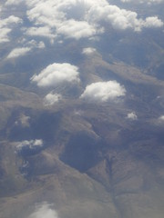 The Flight to Edinburgh #2 (Diamond Geyser) Tags: clouds scotland aeroplane hills aerialshot britishairwaysflight