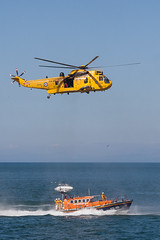 New Quay Wales Lifeboat--3.jpg (llaisymor) Tags: wales newquay helicopter lifeboat ceredigion sar raf seaking rnli