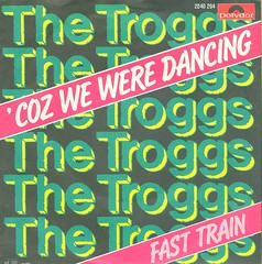 Troggs, The - Coz We Were Dancing - D - 1980 (Affendaddy) Tags: germany 1980 fasttrain polydor thetroggs vinylsingles collectionklaushiltscher 1960sukbeat cozweweredancing