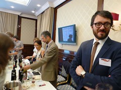 Brunello workshop Mosca Luca e Pablo (Donatella Cinelli Colombini) Tags: wine russia tasting toscana mosca brunello vino sanpietroburgo degustazione brunellodimontalcino donatellacinellicolombini violantegardini