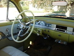 1954 Plymouth Belvedere 4-Door Sedan (Hipo 50's Maniac) Tags: door sedan interior 4 plymouth 1954 belvedere 4door