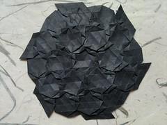 Joel Cooper - Basket Weave (MihaelaEudaimonia) Tags: origami joel cooper weave tessellation bascket