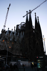 Temple Expiatori de la Sagrada Família (AYUMI-TURQUOISE) Tags: barcelona silhouette familia spain turquoise família federica sagrada barcellona ayumi spagna pagano