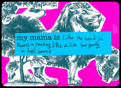 Mama's Day Cards by ICAH youth leaders (icahpics) Tags: chicago art collage youth illinois neon mama clipart youthart ylc youthleaders youthvoice mamasday strongfams chosenfams givenfams