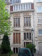 Architectenwoning Jean-Baptiste Dewin, Vorst (Erf-goed.be) Tags: geotagged brussel vorst archeonet architectenwoning geo:lon=43478 geo:lat=508163 jeanbaptistedewin