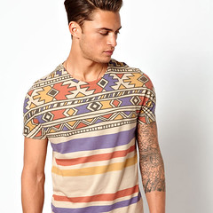 aztec-shoulders-tee (Fashion Graphics) Tags: inspiration london art fashion illustration print design clothing graphics screenprint style images photographic direction trends tshirts pigment apparel plastisol