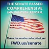Great job America! #immigration #reform #itsabouttime #senate
