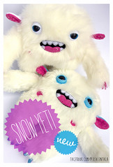 Snow Yeti (entala) Tags: winter snow monster toy snowman plush plushie beast creature bigfoot yeti zabawka potwr przytulanka entala