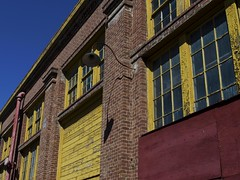 Shadow (rschnaible) Tags: california ca old building water architecture island industrial mare military front warehouse explore abandon commercial northern vallejo base explored