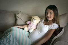 Teddy Bear (DufferLong) Tags: bear woman canon eos colorado long teddy pregnancy pregnant maternity teddybear nguyen duffer canonef35mmf14lusm 40d longnguyen eos40d canoneos40d canon40d dufferlong