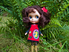 Petunia (Helena / Funny Bunny) Tags: doll kenner blythe blekinge torpet kennerblythe funnybunny petuniakibbles fbfashion