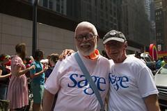 Pride 2013 (SAGEUSA) Tags: nyc bloomberg pride sage lgbt seniors nycpride olderadults pride2013 sagepride