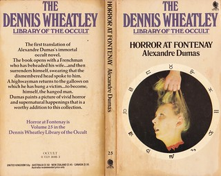 Alexandre Dumas - Horror at Fontenay (Dennis Wheatley Library of the Occult)