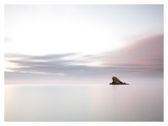 Rock Of Ages (picturedevon.co.uk) Tags: uk longexposure england seascape colour beach unitedkingdom fineart dream august devon le torquay horizion meadfoot 2013 englishriviera canoneos5dmkii bigstopper 11stop takenbydavidhixon