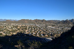 City View - North Mountain Park - Phoenix - Arizona - 27 February 2013 (goatlockerguns) Tags: park arizona cactus usa mountain southwest phoenix north saguaro 2013