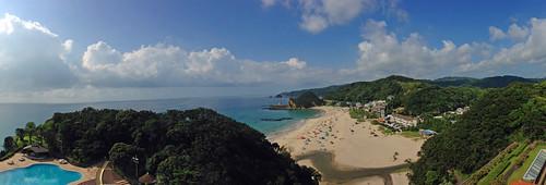 Iritahama Beach Panorama View