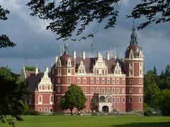 Neue Schloss, Bad Muskau (Andr-DD) Tags: park castle germany deutschland saxony sachsen schloss badmuskau frstpcklerpark neueschloss