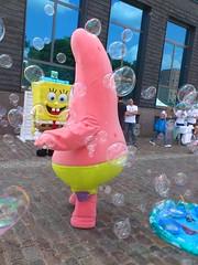 Spongebob und Patrick beim Nickelodeon Kindertag