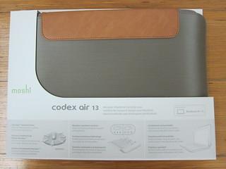 """Moshi Codex Air 13 Titanium for MacBook Air 13"""""""