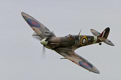 SHOREHAM 2013 - SPITFIRE (mark_rutley) Tags: aircraft airshow worldwarii merlin spitfire warbirds worldwar2 airdisplay shorehamairshow shorehamairshow2013