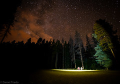 Abduction (Silhouette 77) Tags: trees red sky nature night clouds way stars woods nikon colorado angle wide astronomy wilderness nikkor breckenridge milky rado 28g d700 1424mm