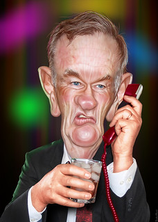 From http://www.flickr.com/photos/47422005@N04/9925141983/: Bill O'Reilly - Caricature