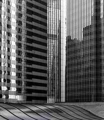 Shapes and reflections (Keith Mulcahy) Tags: blackandwhite contrast hongkong shapes streetphotography highcontrast airportexpress hongkongisland ifc2 centraldistrict canon2470mmf28 canon5dmk3 october2013 keithmulcahy blackcygnusphotography ppa7a0 ppd56c