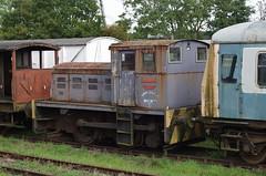 D4279, 'Arthur Wright', John Fowler 0-4-0DM built 1952 in Swithland sidings, 5th October 2013 (OG47) Tags: locomotive swithland dieselengine greatcentralrailway gcr railwayengine diesellocomotive smcpentaxk50mmf12 040dm arthurwright d4279 pentaxk5