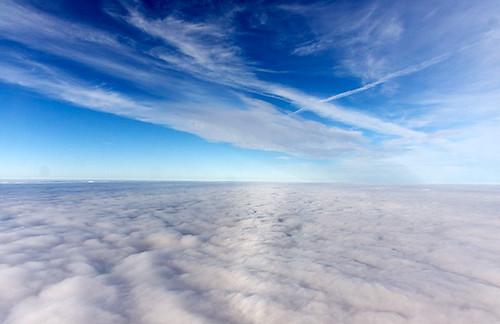 Snowfields in the sky