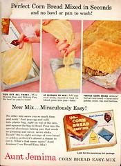 1958 Aunt Jemima Corn Bread Mix Advertisement Readers Digest February 1958 (SenseiAlan) Tags: bread mix corn advertisement aunt 1958 february jemima digest readers