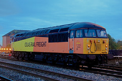 56094 0Z56 1530 Landore T.M.D. to Canton Sidings at Cardiff 01.11.2013 (The Cwmbran Creature.) Tags: rail class british 56