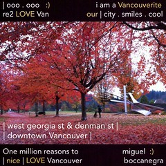 | west georgia st & denman st | | no.26 | (I am a Vancouverite) Tags: world city people tourism home promotion vancouver cool nice realestate profile stanleypark today l4l vancity downtownvancouver metrovancouver onemillion cityofvancouver vancouverite vancouvercity vancouvertourism vancouverrealestate vanone awesomevancouver instaphoto instagood instafollow miguelboccanegra thegreatervancouverarea