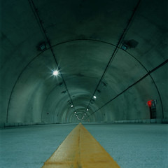 (akira ASKR) Tags: film fuji tunnel okinawa  provia100f  hasselblad500cm rdpiii kunigami  distagoncf50mmfle
