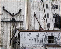 Mill Remnants (A Anderson Photography, over 1 million views) Tags: mill architecture canon route66 industrial oldbuilding oldwindow nikcolorefexpro oldandbeautiful countrybackroads oklahomatouristsites